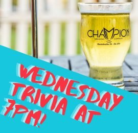Wednesday Trivia at Champion Grille – Stonefield